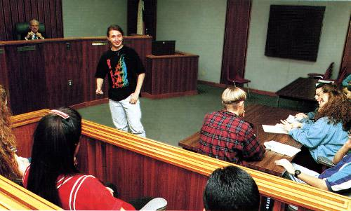 Teen court as