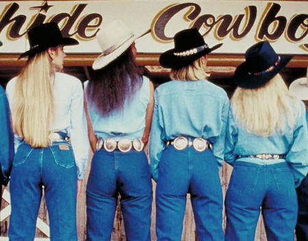 The story of Blue Jeans in simple English