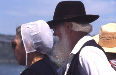 Amish couple