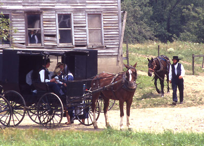 the amish in america clash of When you think of the amish, what comes to mind horses buggies long dresses and bonnets long beards no electricity well, yes, there is all of that.