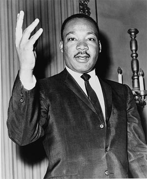 Martin Luther King - Library of Congress photo