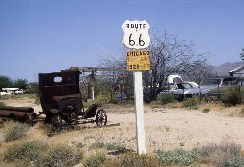 Beside route 66