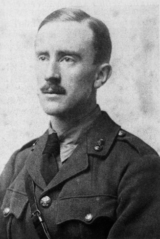 Tolkien in the army