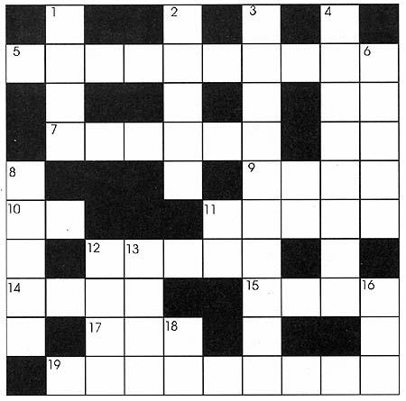 School Crossword Puzzles