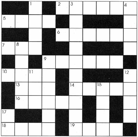 Free Crossword Puzzles To Print Mathematical Crossword Puzzles Answers