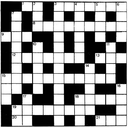 Work & Jobs crossword