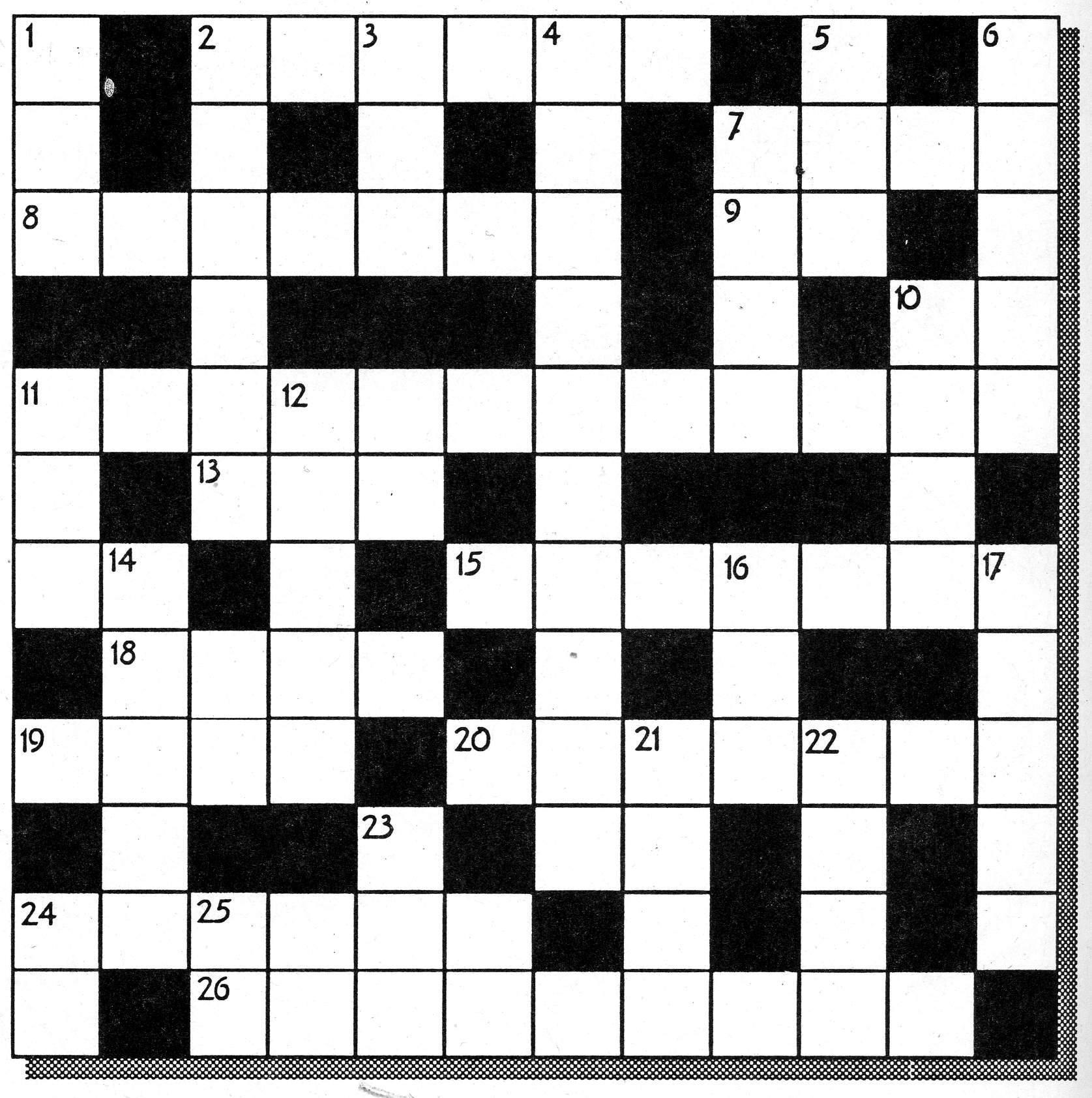 Olympic crossword | sport vocabulary crossword